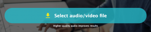 Select audio/video file to transcribe