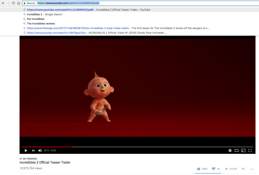 the incredibles youtube