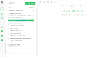 writer productivity apps Evernote
