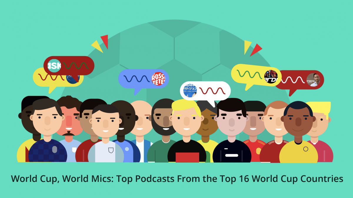 World Cup, World Mics: Top Podcasts From the Top 16 World Cup Countries